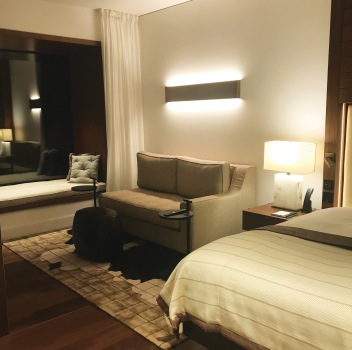 My cosy room at Bürgenstock Hotel