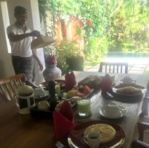 Villa Bali Asri_Breakfast