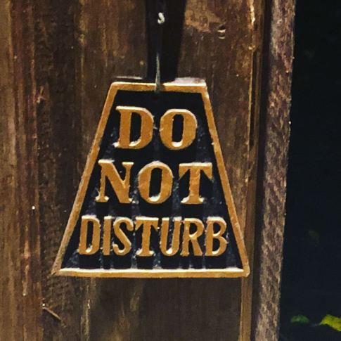Villa Bali Asri_Do not distrub
