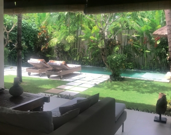Villa Bali Asri_The view from the lounge